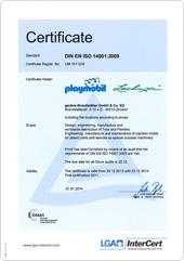 certificato politica ambientale